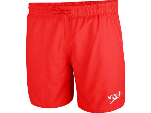 speedo Essentials Short de bain 16'' Homme, fed red